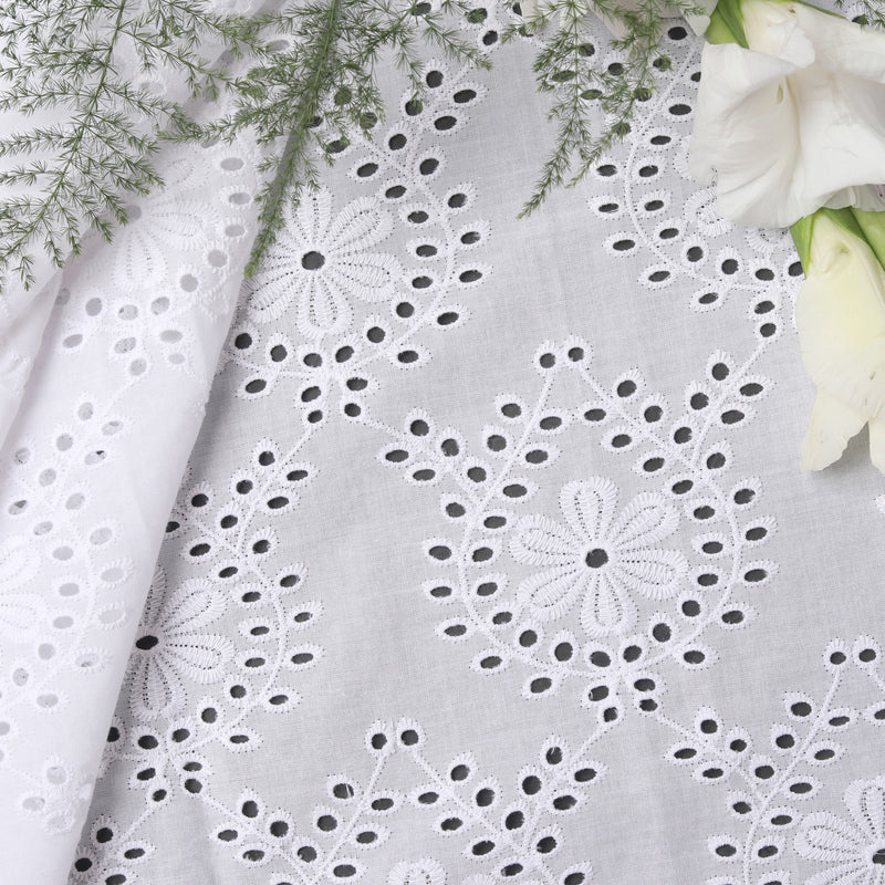 Premium Embroidered Fabric
