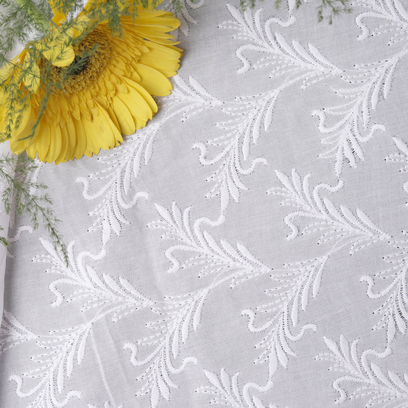 Premium Embroidered Fabric Parnika
