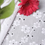 Premium Embroidered Fabric Titli