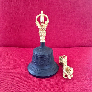 Medium Black Bell & Dorje Dehradun