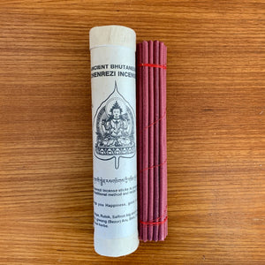 Chenrezig Ancient Bhutanese Style Incense