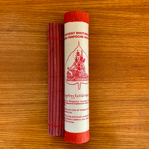 Guru Rinpoche Ancient Bhutanese Style Incense