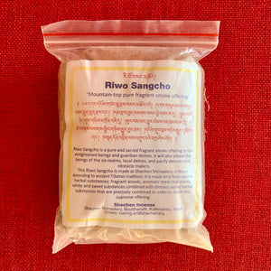 Shechen Riwo Sangcho Incense Powder