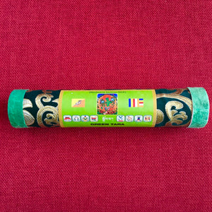 Green Tara Bhutanese Style Brocade Incense