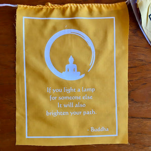 Prayer Flags Buddha Quotes