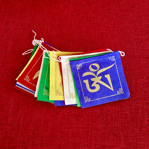 Lokta Paper Prayer Flags Om Mani