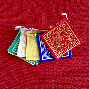 Lokta Paper Prayer Flags Windhorse