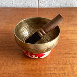 Singing Bowl 13cm Om Mani