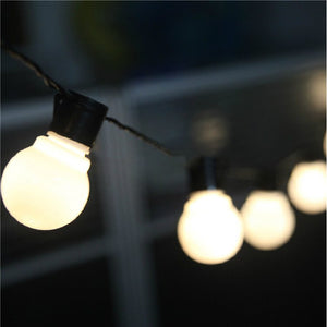 Outdoor Hanging Bulb Lights