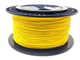 Fiber optic cable 9/125 single mode simplex 2.0 millimeters diameter color yellow 300 meters - Mr. Tronic