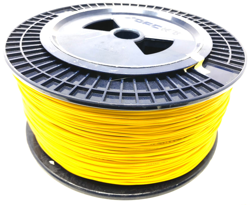 Fiber optic cable 9/125 single mode simplex 2.0 millimeters diameter color yellow 500 meters - Mr. Tronic