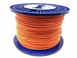Fiber optic cable 50/125 multi mode simplex 3.0 millimeters diameter color orange 300 meters - Mr. Tronic