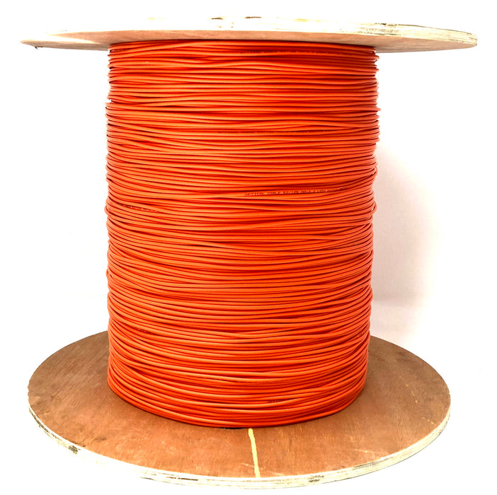 Fiber optic cable 50/125 multi mode simplex 3.0 millimeters diameter color orange 500 meters - Mr. Tronic