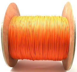 Fiber optic cable 50/125 multi mode simplex 3.0 millimeters diameter color orange 1000 meters - Mr. Tronic