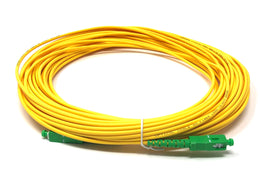Fiber optic cable 9/125 mono mode simplex SC/APC to SC/APC 20 meters - Mr. Tronic