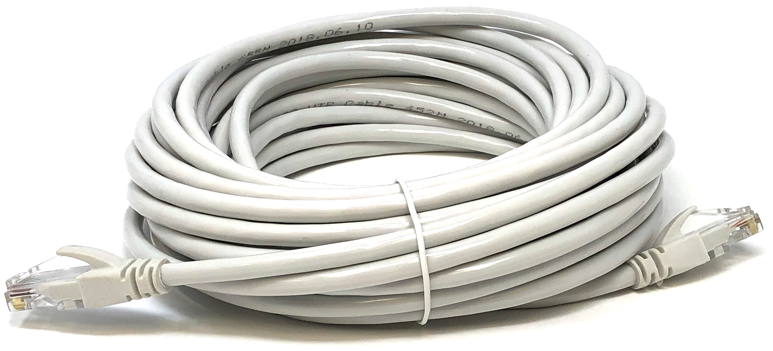 Ethernet Network Cable UTP Category 6 CCA 24AWG Color Grey 10 meters
