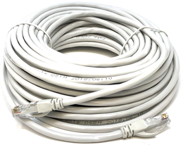 Ethernet Network Cable UTP Category 5e CCA 24AWG Color Grey 20 meters