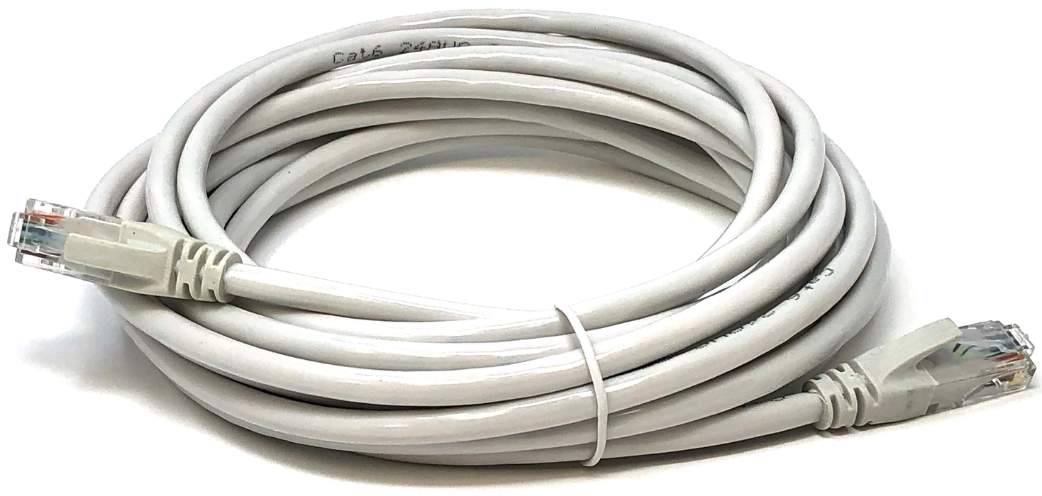 Ethernet Network Cable UTP Category 6 CCA 24AWG Color Grey 5 meters