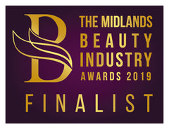 Beauty Awards Finalist Logo for Foundations Beauty Academy - Shortlisting