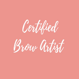 Certified brow artist course content header image at Foundations Beauty Academy