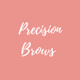 Precision Brows logo at the Academy in Stoke on Trent Staffordshire