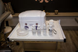 Eyebrow waxing kit used at Foundations Beauty Academy by Learners