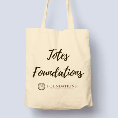 Foundations 'Totes Foundations' Tote Bag