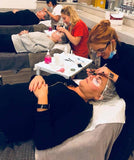 Individual Eyelash Extension learner applying lashes