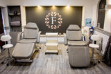 The Foundations Beauty Academy in Stoke on Trent  treatment chairs
