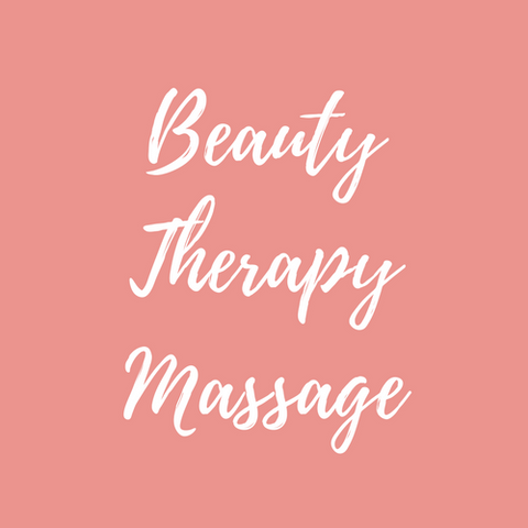 Beauty therapy massage course logo for foundations beauty academy stoke on trent