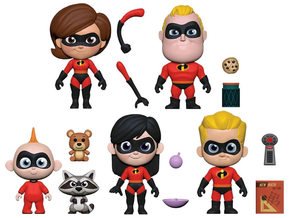 Funko: 5 Star Incredibles 2 - The Whole Family