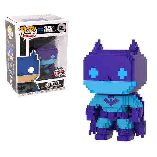 Funko POP! Vinyl DC Super Heroes: Batman Blue Deco 8 bit