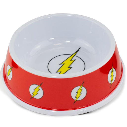 "Buckle-Down Melamine Pet Bowl 7.5"" (16oz) - The Flash"