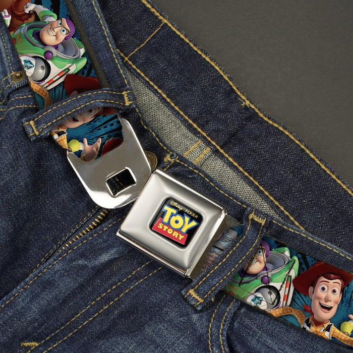 Buckle-Down Seatbelt Belt - Toy Story Logo