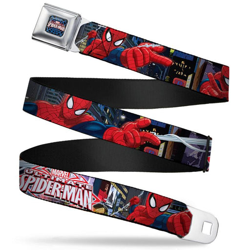 Buckle-Down Seatbelt Belt - Ultimate Spider-Man