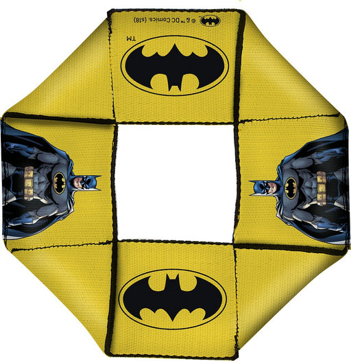 Buckle-Down: Dog Toy Octagon Flyer - Batman