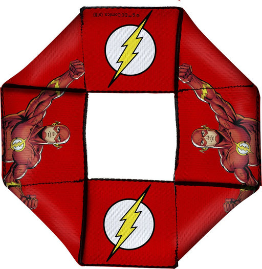 Buckle-Down: Dog Toy Octagon Flyer - The Flash