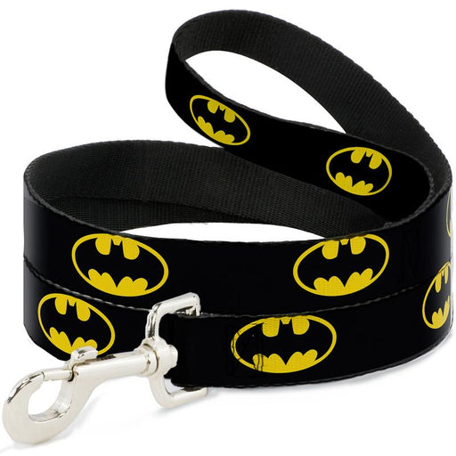 Buckle-Down Dog Leash - Batman Shield