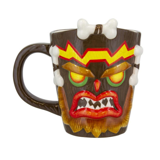 Crash Bandicoot: Uka Uka Shaped Mug