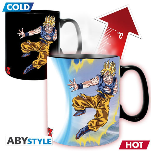 Dragon Ball: Goku Vs Buu 460 ml Heat Changing Mug