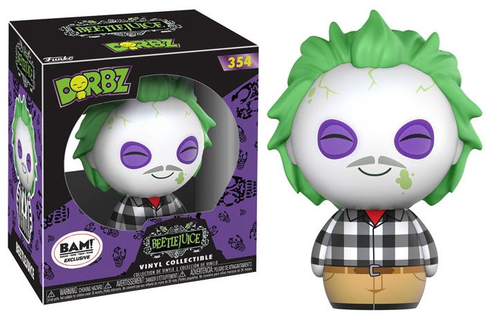 Dorbz: Beetlejuice - Plaid Shirt (Exc)