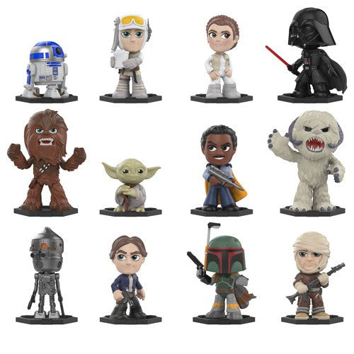 Funko Mystery Mini: Star Wars The Empire Strikes Back Bobble Heads - Open Box