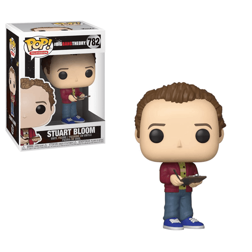 Funko POP! Big Bang Theory - Stuart with Clipboard