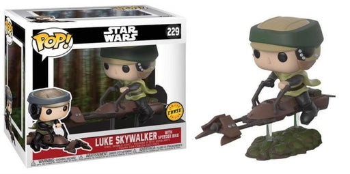 POP! Star Wars - Luke Skywalker with Speeder Bike (Chase)