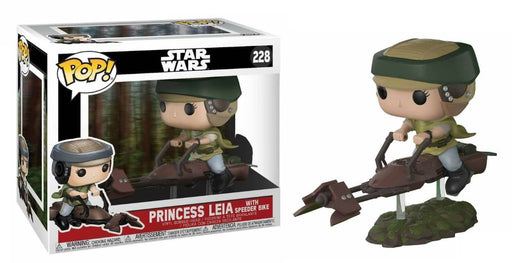 Funko POP! Star Wars - Princess Leia with Speeder Bike (Deluxe)