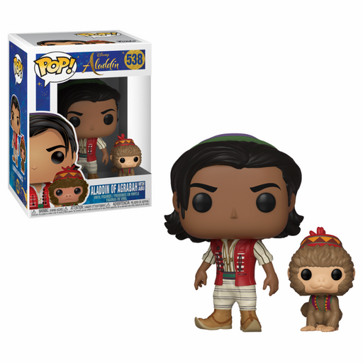 Funko POP! Disney: Aladdin Live - Aladdin With Abu