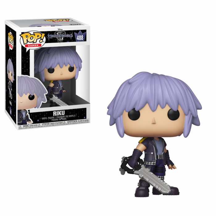 Funko POP! Vinyl Games: Kingdom Hearts 3 - Riku