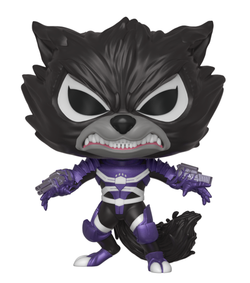 Funko POP! Vinyl Marvel Venom S2- Venomized Rocket