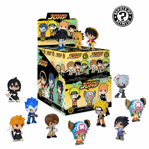 Funko Mystery Mini: Best of Anime - Shonen Jump (Your Choice)
