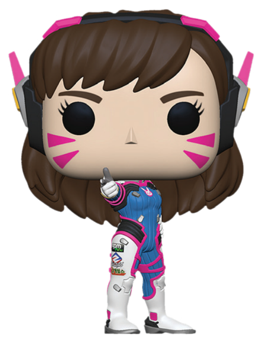 Funko POP! Games: Overwatch - Baby D.Va